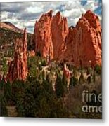Valley In The Sun Metal Print