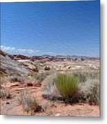 Valley Of Fire 1 Metal Print