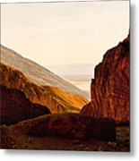 Valley Of Fire Morning Sun Metal Print