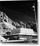 Valley Of Fire State Park Visitors Center Nevada Usa Metal Print
