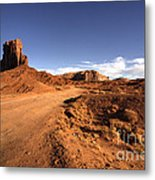 Valley Of Monuments  Metal Print