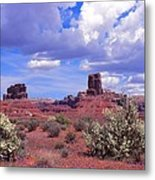 Valley Of The Gods Metal Print