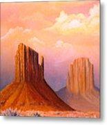 Valley Of The Rocks Metal Print