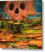 Valley Of The Skulls Metal Print