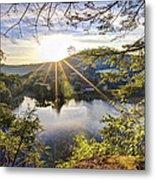 Valley Sunrise Metal Print