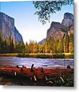 Valley View - Yosemite National Park Metal Print