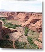 Canyon De Chelly Valley View   Metal Print