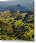 Valleys And Mountains Metal Print