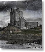 Vampire Castle Metal Print by Juli Scalzi