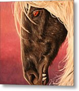Vampire's Steed Metal Print