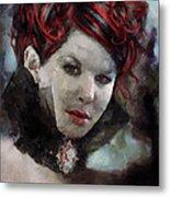Vampiress Metal Print