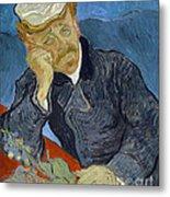 Van Gogh Dr Gachet Metal Print