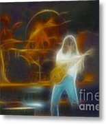 Van Halen-91-ge7a-fractal Metal Print