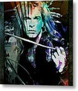 Van Halen - David Lee Roth Metal Print