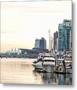 Vancouver Boats  Metal Print by Joanna Madloch