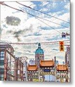 Vancouver China Town Metal Print