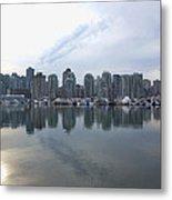 Vancouver Cityscape  Metal Print