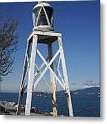 Vancouver Lighthouse Metal Print