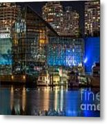 Vancouver Plaza Of Nations - By Sabine Edrissi Metal Print