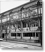 Vancouver Police Department Station 236 Cordova Street Bc Canada Metal Print