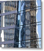 Vancouver Reflections Metal Print