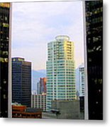 Vancouver Reflections Two Metal Print