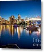 Vancouver Skyline - By Sabine Edrissi Metal Print