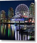 Vancouver Telus World Of Science - By Sabine Edrissi Metal Print