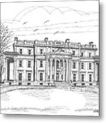 Vanderbilt Mansion Metal Print