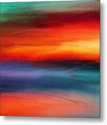 Vanity Of Its Rays Metal Print
