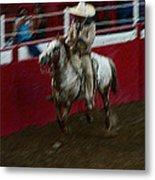 Vaquero Number 2 Rodeo Chandler Arizona 2002 Metal Print