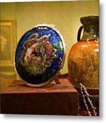Vase At Delaware Art  Metal Print