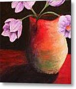 Vase Metal Print by Whitney Nanamkin