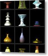 Vases... Metal Print