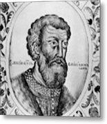 Vasily II (1415-1462) Metal Print