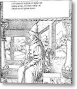 Vasily IIi Ivanovich (1479-1533) Metal Print