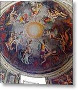 Vatican Ceiling Fresco 1 Metal Print