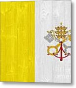 Vatican City Flag Metal Print