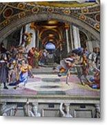 Vatican Fresco 4 Metal Print
