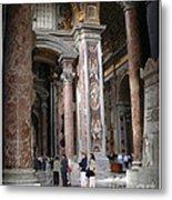 Vatican Interior Metal Print