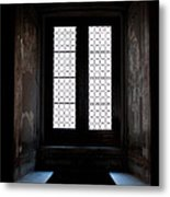 Vatican Window Seats Metal Print