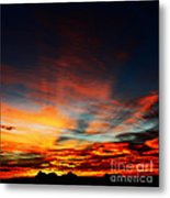 Vedauwoo Dawn Metal Print