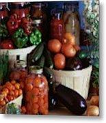Vegetables For Pickling Metal Print