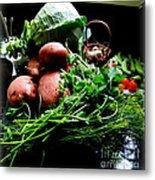 Vegetables. Still Life Metal Print