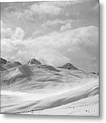 Veil Of Clouds Metal Print