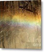 Veiled By A Rainbow Metal Print