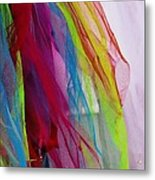 Veiled Color Metal Print