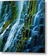 Veiled Wall Metal Print