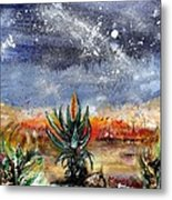 Veldfire  And Aloes Metal Print