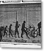 Velorution Metal Print